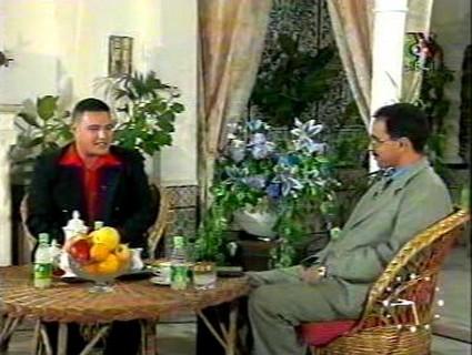 انور عبد الملك في التلفزيون الجزائري