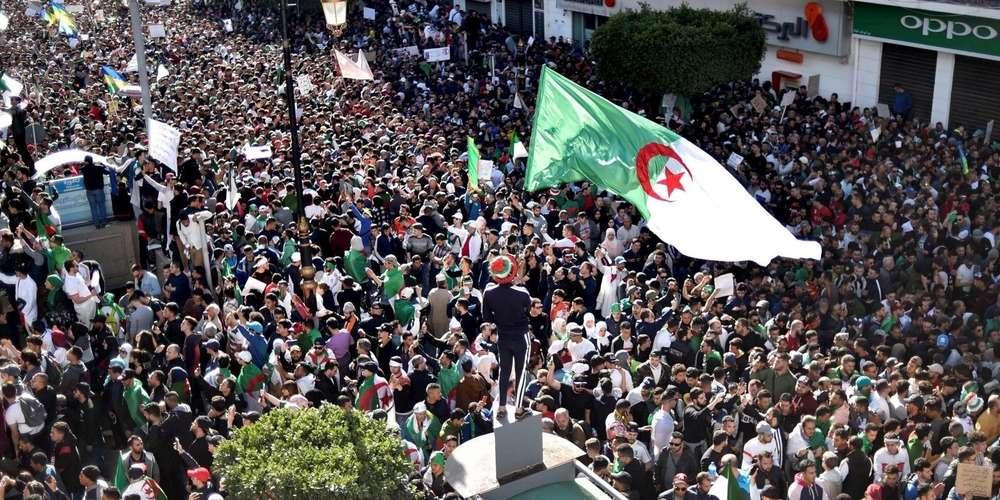 مظاهرات 15 مارس في الجزائر العاصمة - صورة رياض ق - أ ف ب